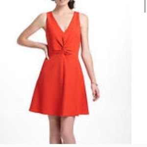 Anthropologie leifsdottir dress size 8 in red